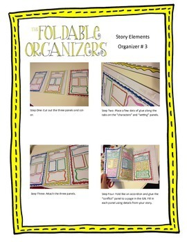 The Interactive Notebook-Story Elements Collection