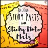 Story Elements- Sticky Note Story Parts