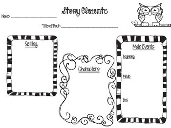 Story Elements Story Map