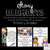 Story Elements: Storybook Poem & Puppets