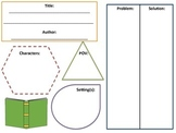 Story Elements Student Summary Sheet WITH PICTURES