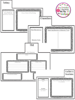 Story Elements Tab Book