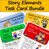 Story Elements Task Card Bundle