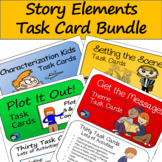 Story Elements Task Card Bundle