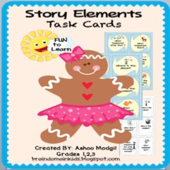 Story Elements Task Cards {Common Core Aligned}