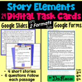 Story Elements Task Cards using Google Forms: A Digital Resource