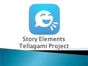 Story Elements Tellagami iPad Project PowerPoint Presentation