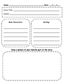 Story Elements Template