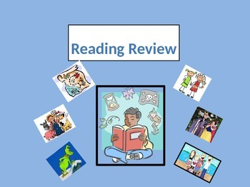 Story Elements Test Review