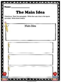 Story Elements - The Main Idea and Details