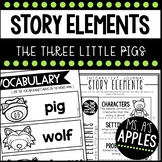 Story Elements: The Three Little Pigs