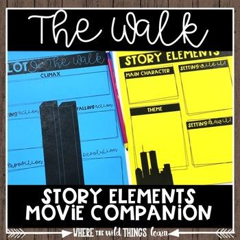 Story Elements-The Walk {freebie}