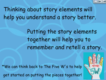 Story Elements UNIT Flipchart