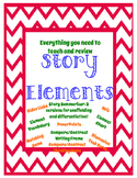 Story Elements Unit - NO PREP - Story Elements and Compare/Contrast Bundle