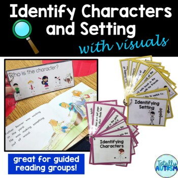Identifying Characters and Setting with Visuals