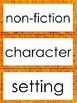 Story Elements Vocabulary Word Wall