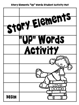 "Story Elements ""UP""-Words Activity"