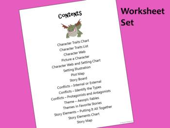 Story Elements - Worksheet Set