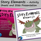 Story Elements - Activity Sheets and Slide Presentation