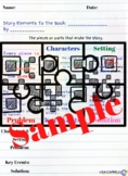 Story Elements Worksheet to use with Picture Books
