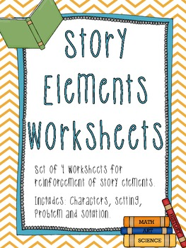 Story Elements Worksheets {for Reinforcement}
