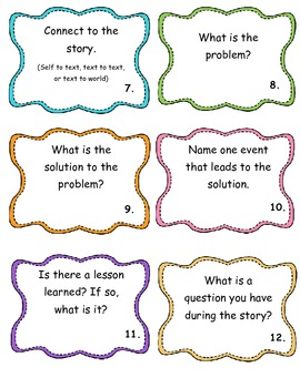 Story Elements and Analysis Task Cards