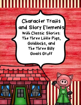 Story Elements and Character Traits Introduction/Review with Fairy Tales