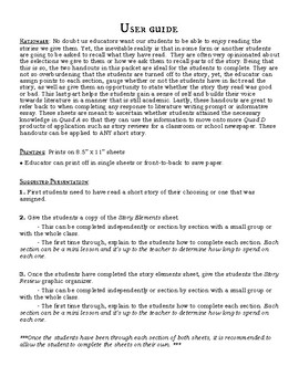 Story Elements and Story Reviews sheets for Short Stories