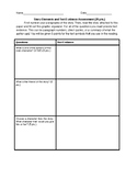 Story Elements and Text Evidence Assessment
