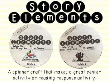 Story Elements Craft Spinner
