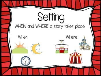 Story Elements for Reading Street: Units 1-6