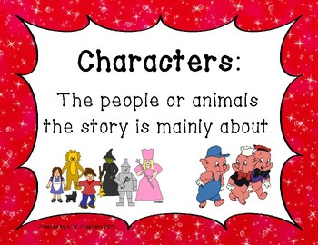 Story Elements in Fiction (Posters)