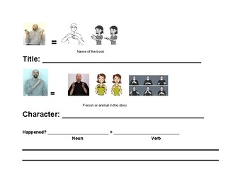 Story Elements with Sign Language