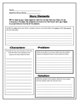 Story Elements with Text Evidence!