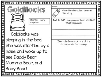 Story Elements with Text Evidence