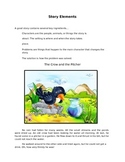 Story Elements workbook for 2nd grade
