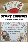 Story Endings (6 examples of how writers end their stories)