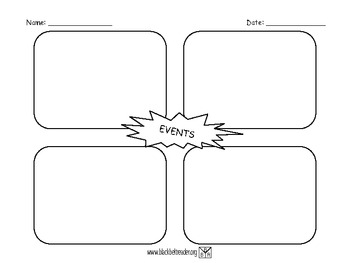 Story Events Graphic Organizer