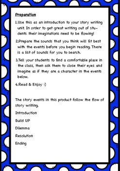 Story Writing Activity