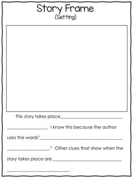 Story Frame Freebie