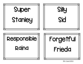 Story Friends!  A new way to do writing prompts!