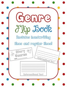 Story Genre Flip Book