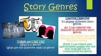 Story Genres - Double Lesson!