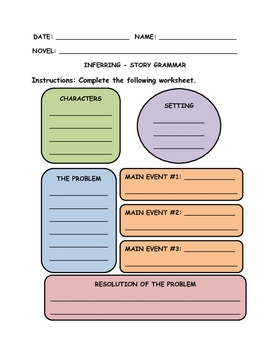 Story Grammar - Detailed