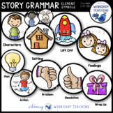Story Grammar Elements Symbols Clip Art