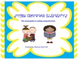 Story Grammar Elements (The visual guide to reading comprehension)
