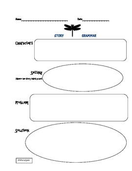 Story grammar graphic organizer by lucia teachers pay teachers story grammar graphic organizer ccuart Choice Image