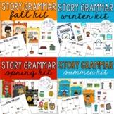 Story Grammar - Seasons Bundle