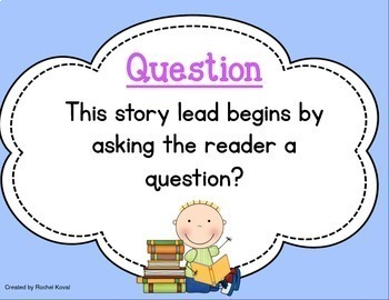 Story Leads and Story Endings Pack (Explanations of both leads and endings)