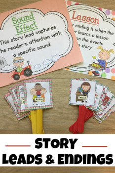 Story Leads and Story Endings Pack (Explanations of both l